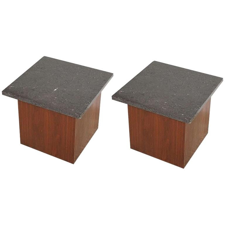 Pair of Cube Tables by Directional
