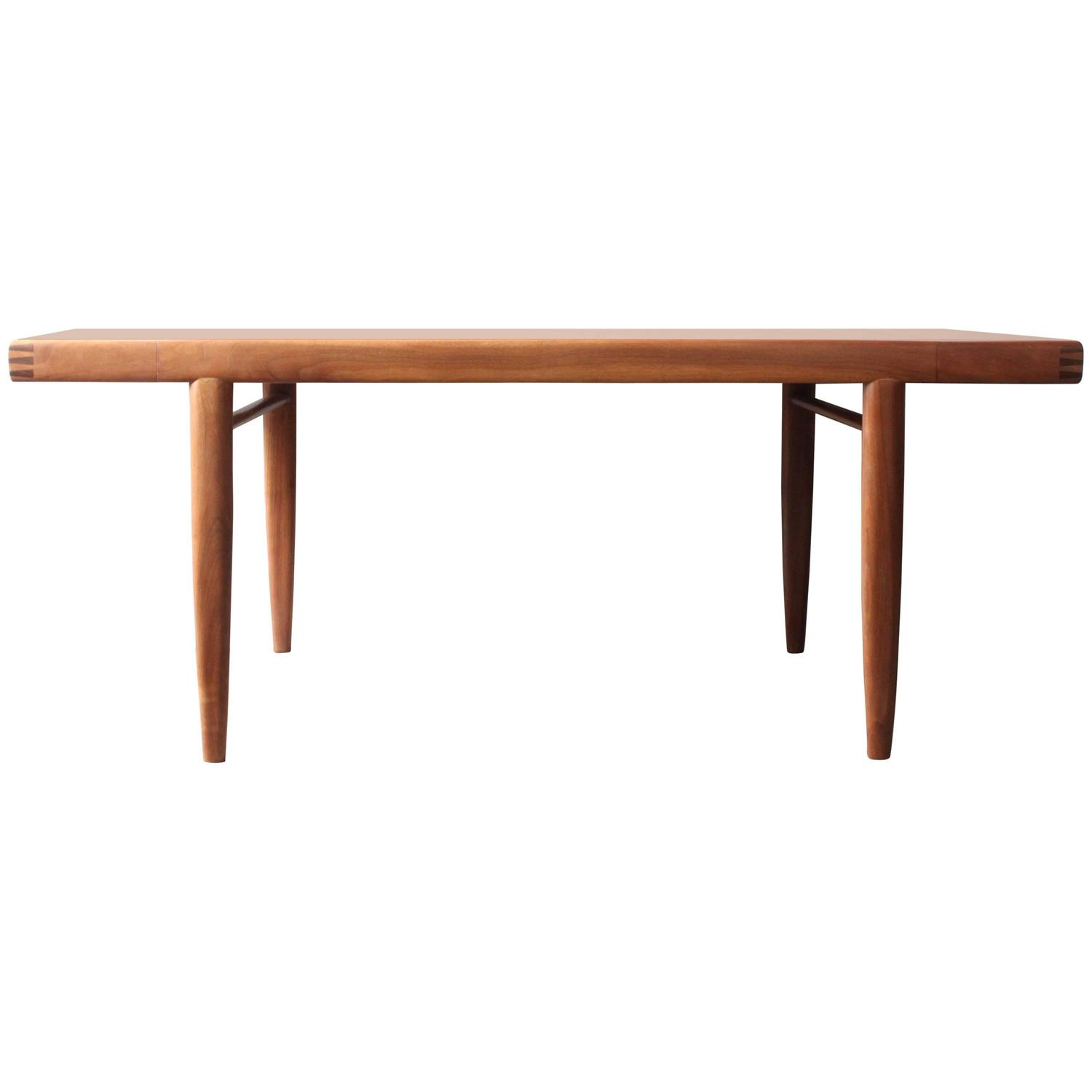 Walnut Dining Table by George Nakashima for Widdi b at 1stdibs