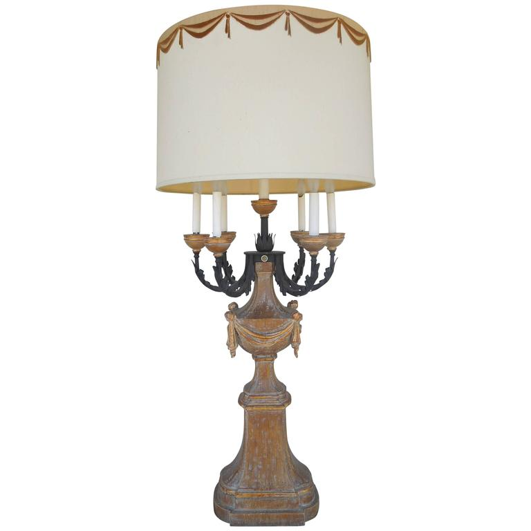 Iconic 1950s marbro regency candelabra lamp for sale at for Iconic design lamps