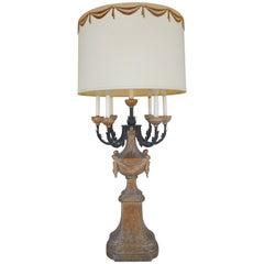 Iconic 1950s Marbro Regency Candelabra Lamp