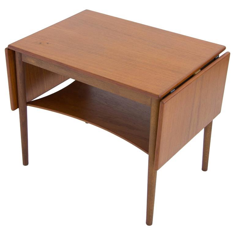 Borge Mogensen Drop Leaf Side Table