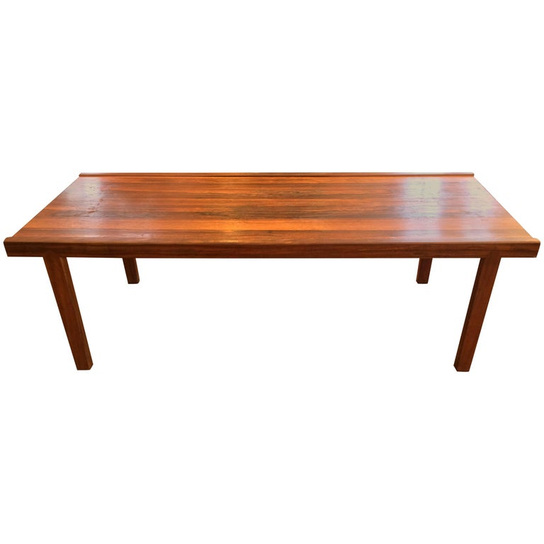 A.H. McIntosh Mid-Century Rosewood Coffee Table For Sale