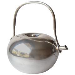 Vivianna Torun Bulow- Hube Dansk Silver Plate Tea Pot