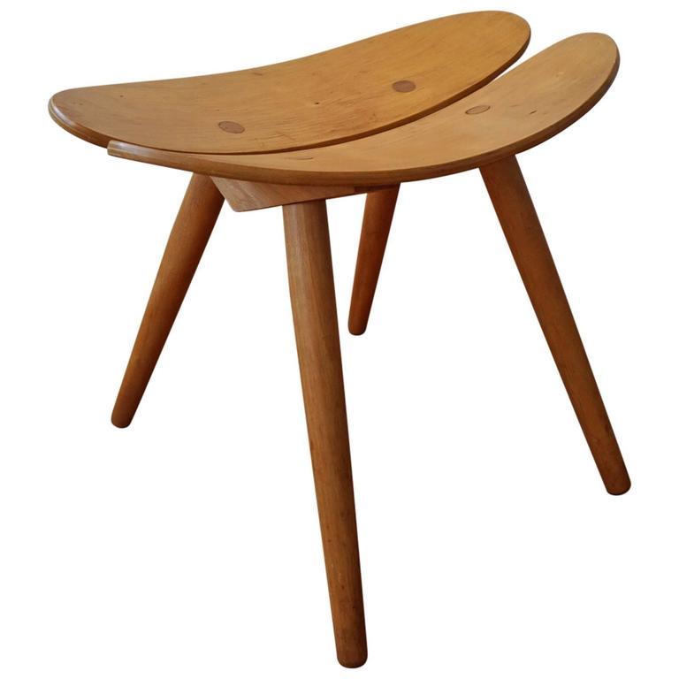 Modernist japanese stool at stdibs