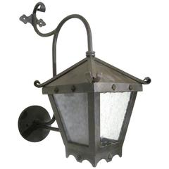 Small Studded Iron Exterior Wall Mount