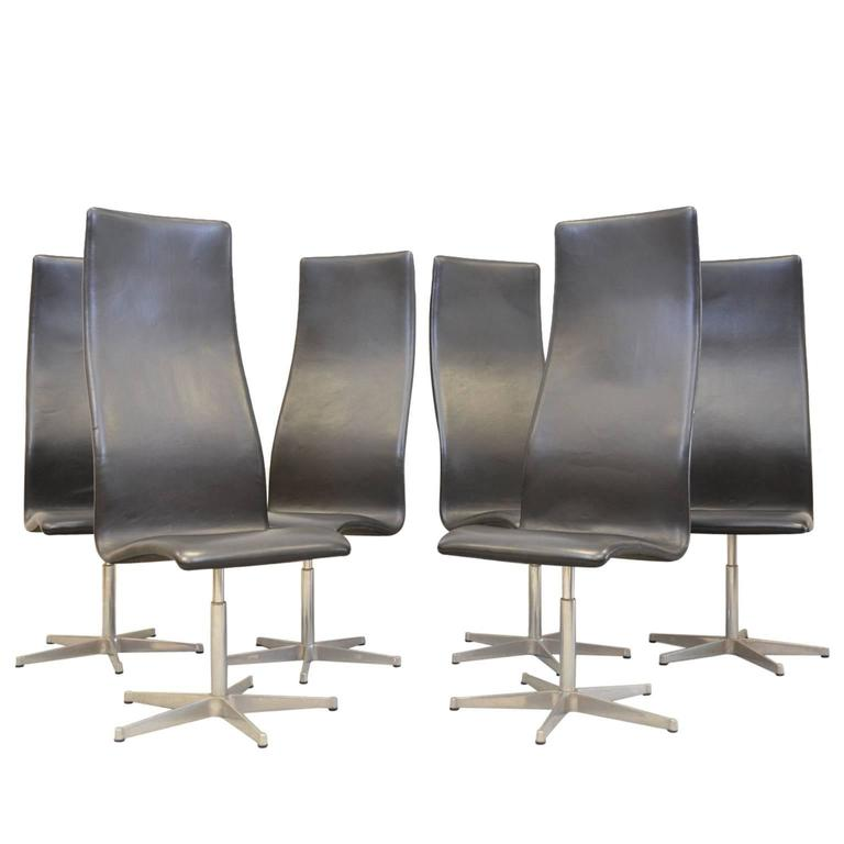 Oxford Chairs By Arne Jacobsen For Fritz Hansen For Sale At 1stdibs