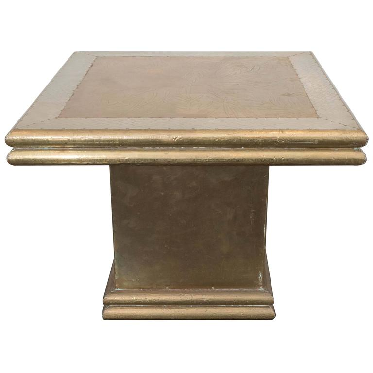 Rodolfo Dubarry Side Table For Sale