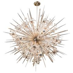 Austrian Crystal Starburst Sputnik