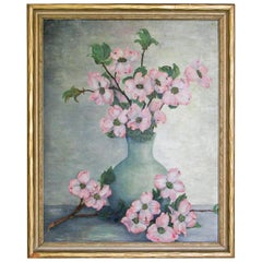 1930s Floral Still Life Painting