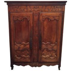 18th Century French Country Armoire