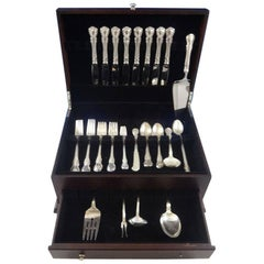 French Provincial by Towle Sterling Silver Flatware Set 8 Service 69 Pieces