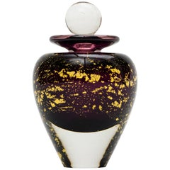 Stylish Blown Glass Perfume Bottle