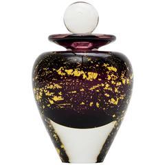 Stylish Blown Glass Perfume Bottle