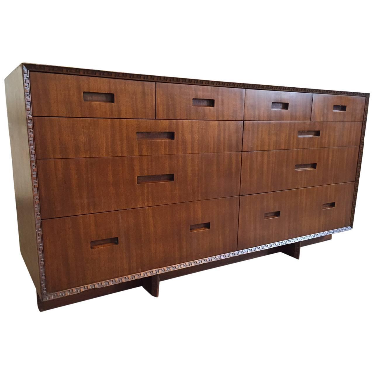 frank lloyd wright dresser for henredon for sale at 1stdibs