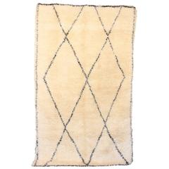 Large Ben Ourain Area Rug