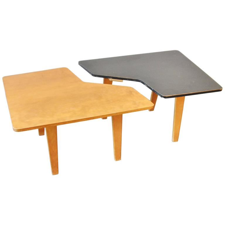 "Model ""TB14"" Midcentury Birch Plywood Coffeetable by Cees Braakman for Pastoe"