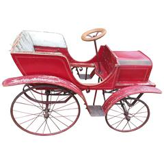 French Pedal Toy Car from circa 1900