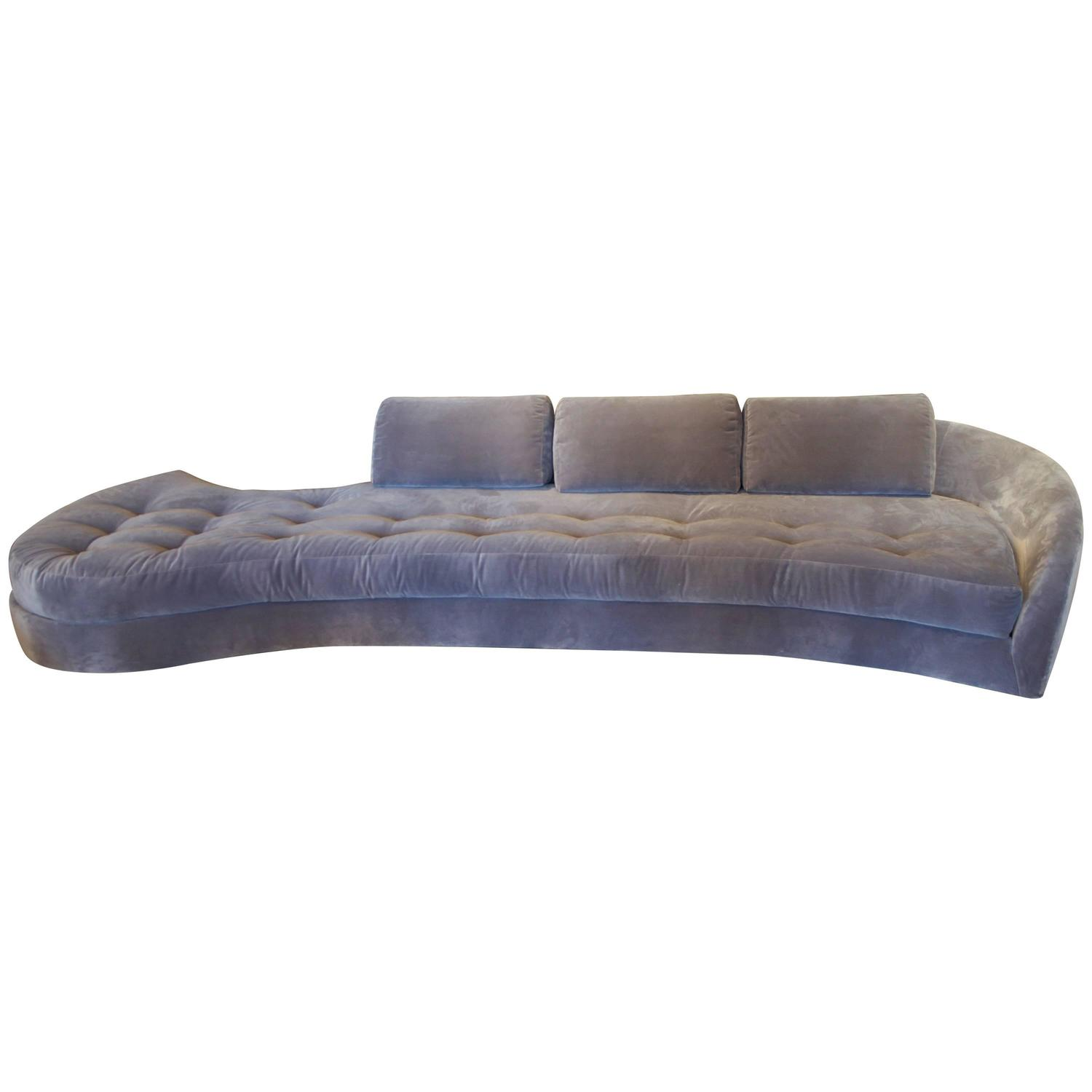 1950s long sofa for sale at 1stdibs for Long couches for sale
