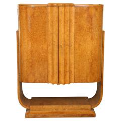 Harry and Lou Epstein (1895-1970) Art Deco Free Standing Bar