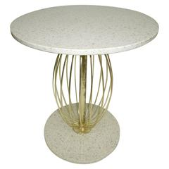 """Terrazzo """"Poodle"""" Table Designed by Barbara Barry for Henredon"""