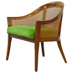 Harvey Probber Caned Lounge Chair