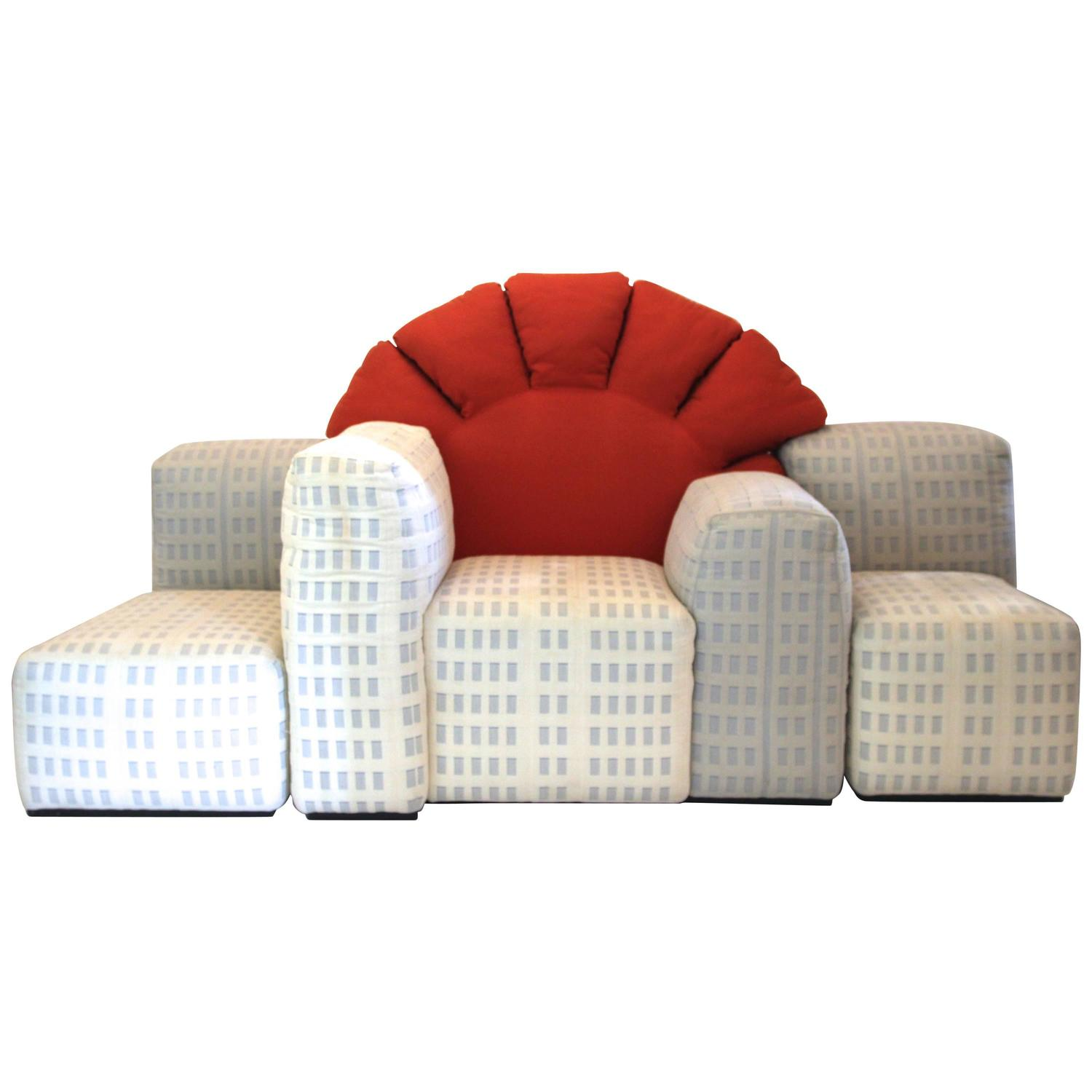 gaetano pesce new york sunrise sofa produced by cassina
