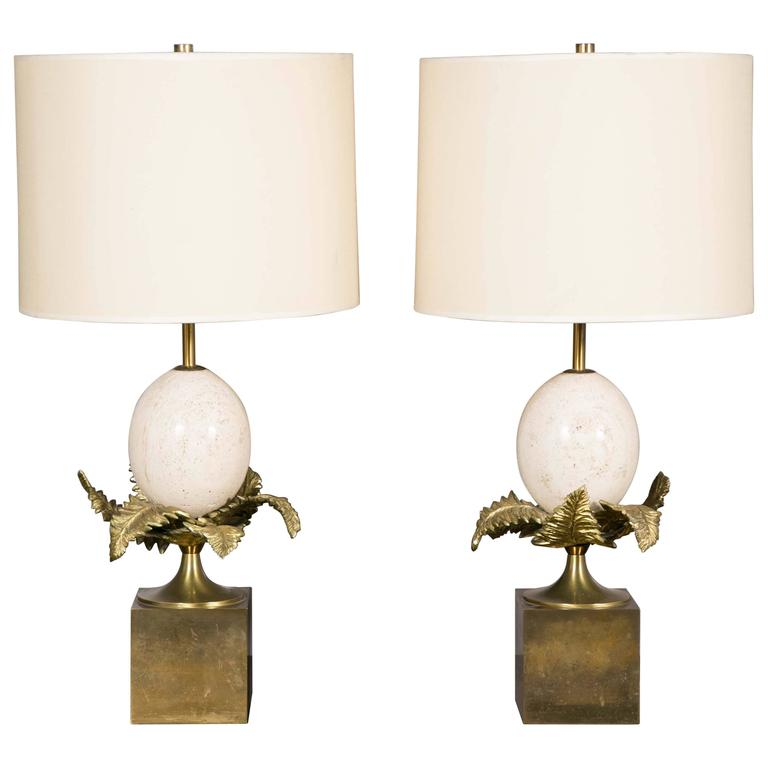 Elegant Pair of Lamps by Maison Charles