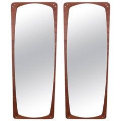 Danish Rosewood Wall Mirrors