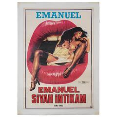 'Emanuel Siyah Intikam,' Original Turkish Film Poster