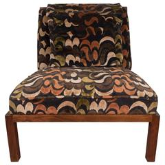 Michael Taylor Slipper Chair for Baker
