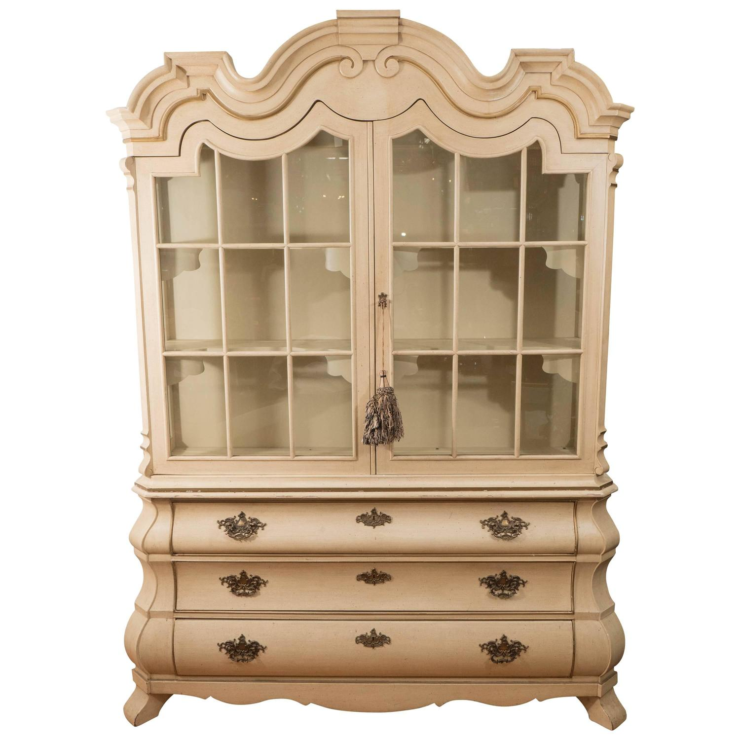 Dorothy Draper Viennese Collection Breakfront Cabinet For Henredon At  1stdibs