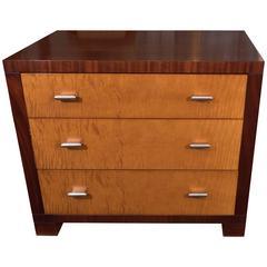John Widdicomb Three Drawer Dresser And Nightstand