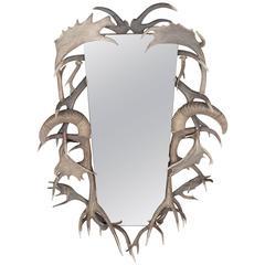 Antler Trophy Framed Mirror