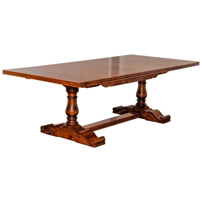 Cherrywood Extension Trestle Table