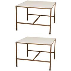 Matched Pair of Paul McCobb Side Tables