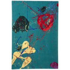 Sam Francis Design Wool Rug