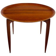 Danish Modern Teak Tray Table Designed by H. Engholm & Svend Aage Willumson