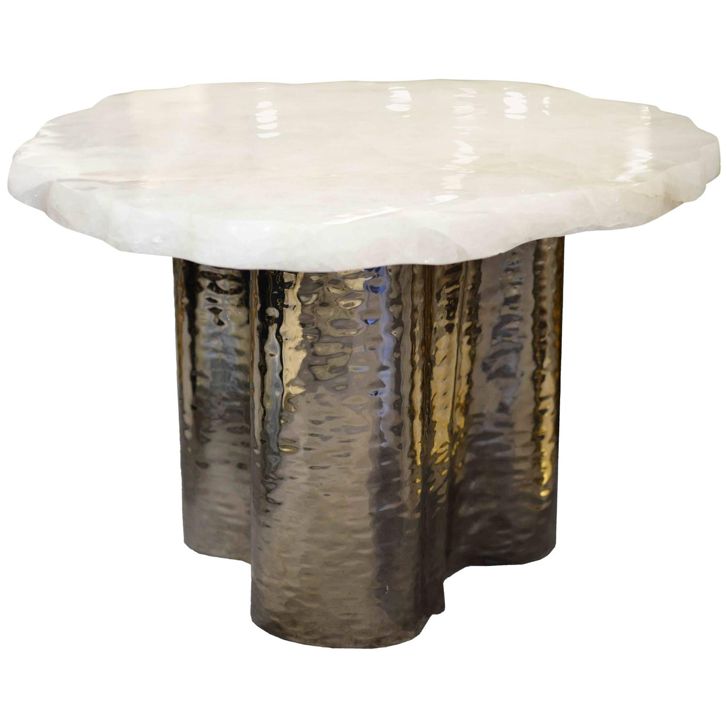 Natural Form Rock Crystal Coffee Table For Sale At 1stdibs