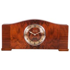 Art Deco Mantel Alarm Clock by Junghans