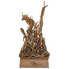 Herbert Long Constructivist Twig Sculpture