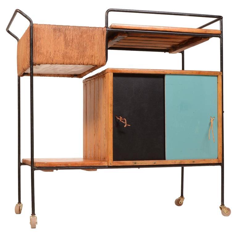 Arthur Umanoff Bar Cart