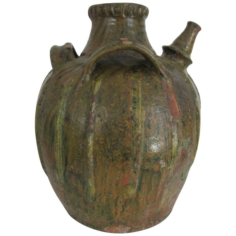 19th Century Oil Jug from France