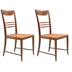 Pair of Charming Chairs by Paolo Buffa, 1940