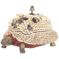 Anthony Redmile Shell and Bronzed Turtle Box