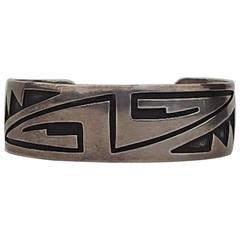 Hopi Bracelet by Eldon Siwingyumpeta Kalemsa, Sr