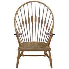 "Danish Modern ""Peacock"" Armchair by Hans Wegner"