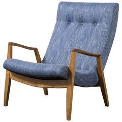 Vintage Milo Baughman 'Scoop' Chair