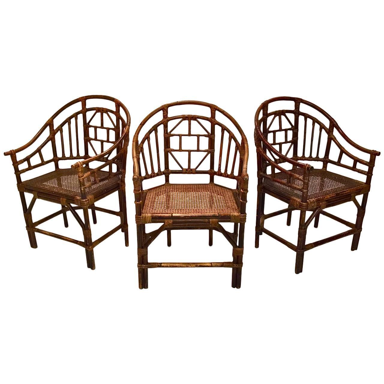 Set Of Ten Brighton Pavilion Style Dining Chairs At 1stdibs