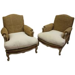 19th Century French Club Chairs
