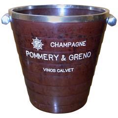 Rare French Art Deco Bakelite Champagne Bucket